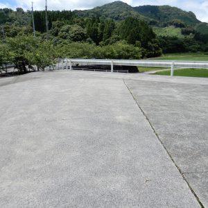 コンクリート舗装駐車場